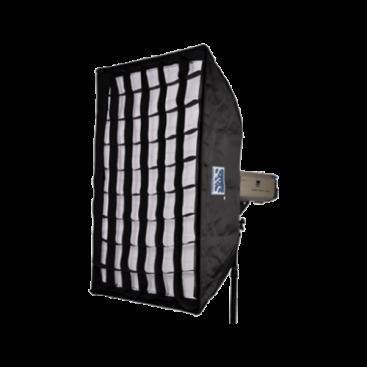 سافتباکس واید ۱۲۰ × ۸۰ سانتیمتری S&S 80x120cm Softbox with Grid