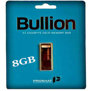 فلش مموری پروشات USB Falsh Proshat 8GB Bullion USB.2