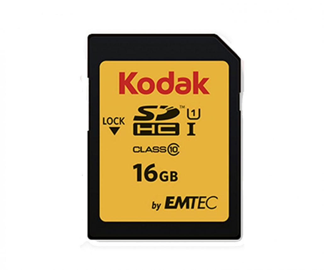 کارت حافظه اس دی SD KODAK 16GB U1