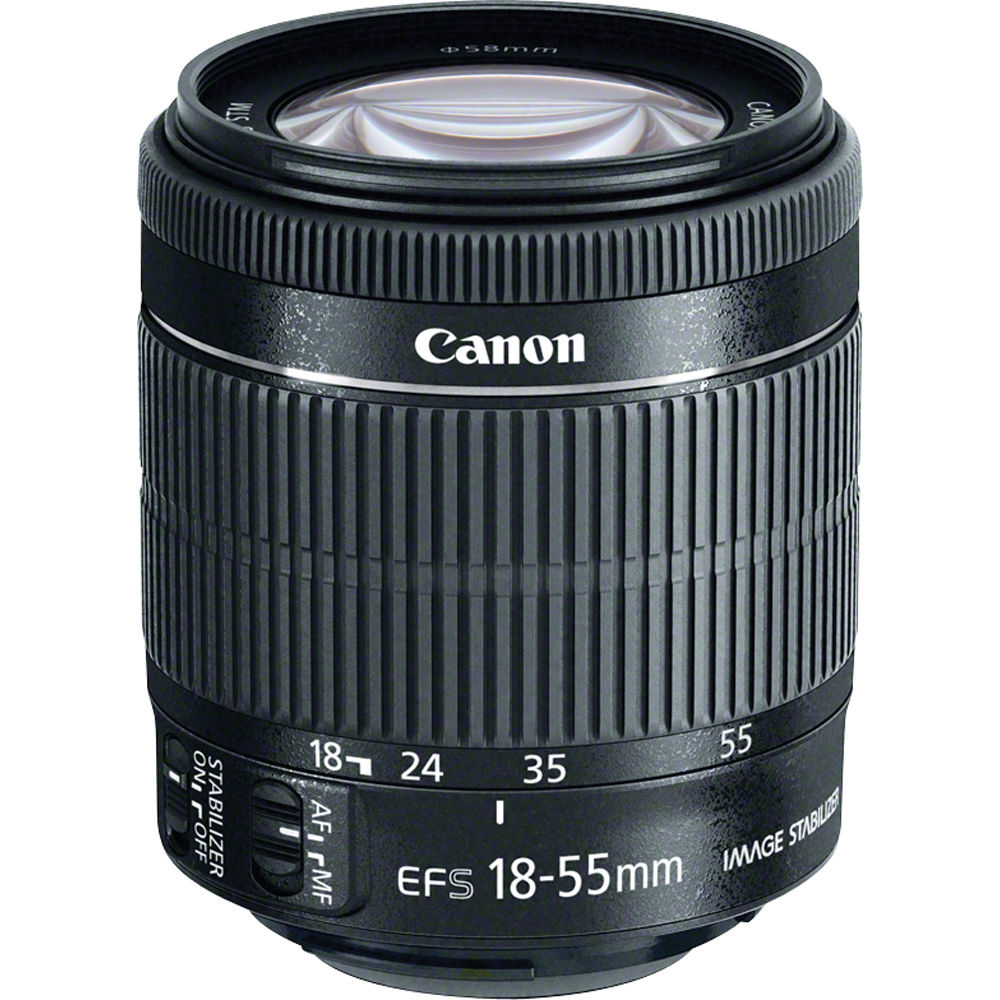 | Canon EF-S 18-55mm f/3.5-5.6 IS STM Lens