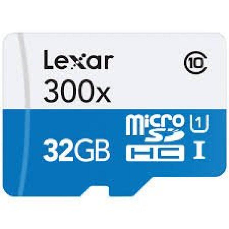 دیدنگار کارت میکرو اس دی micro sd card رم موبایل میکرو اس دی Micro SD Lexar 32GB – 300X U1