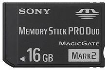 دیدنگار|کارت اس دی|sd card|کارت حافظه استیک پرو دو Memory  Stick PRO Duo Sony 16GB