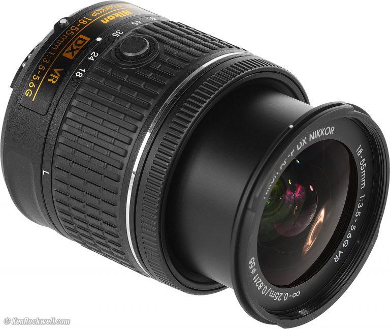 لنز دوربین عکاسی نیکون NIKON 18-55 VRII| فروشگاه اینترنتی دیدنگار