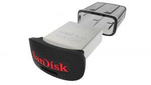 دیدنگار|فلش مموری|فلش مموری 64G سندیسک USB Flash Fit Sandisk 64GB USB 3