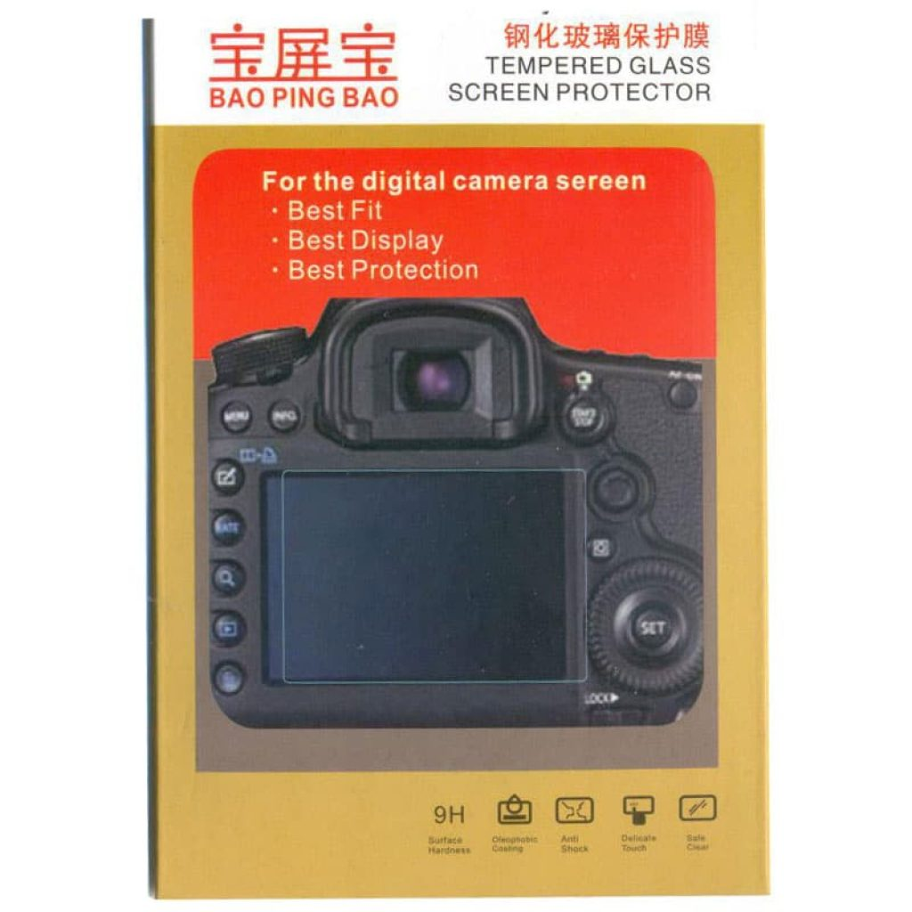 محافظ صفحه نمایش گلس دوربین نیکون Lcd Screen Protector Nikon D5500