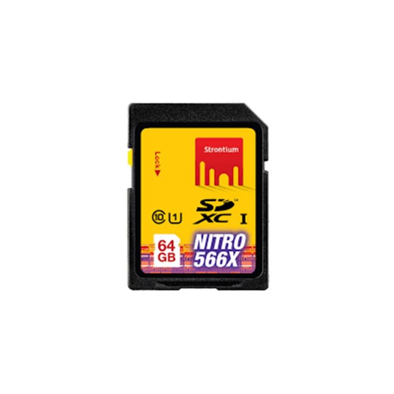 کارت حافظه اس دی SD Strontium 64GB U1