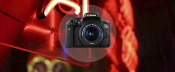 فیلمبرداری دوربین کانن 750D