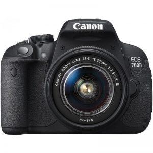 دیدنگار|دوربین کانن|دوربین عکاسی کانن Canon 700D با لنز 55-18 IS STM