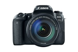 دوربین عکاسی کانن Canon 77D با لنز 135-18 IS USM