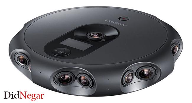 سامسونگ دوربینی با فیلمبرداری ۴K و ۳۶۰ درجه به بازار عرضه می کند.