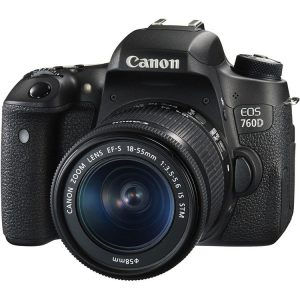 دیدنگار|دوربین کانن|دوربین عکاسی کانن Canon EOS 760D با لنز 55-18 STM