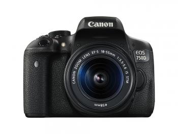 دیدنگار|دوربین کانن|دوربین عکاسی کانن Canon 750D (ژاپن) با لنز 55-18 IS STM
