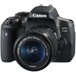 دیدنگار|دوربین کانن|دوربین عکاسی کانن Canon 750D (تایوان) با لنز 55-18 IS STM