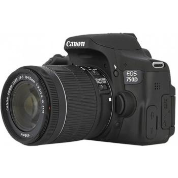 دوربین عکاسی کانن Canon 750D (ژاپن) با لنز 55-18 IS STM