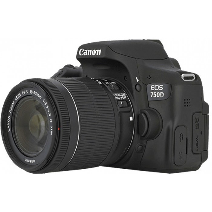 دوربین عکاسی کانن Canon 750D (ژاپن) با لنز ۵۵-۱۸ IS STM