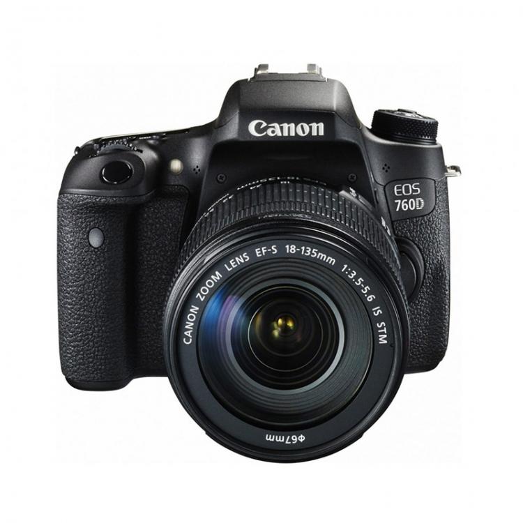 دیدنگار|دوربین کانن|دوربین عکاسی کانن Canon 760D با لنز 135-18 IS STM