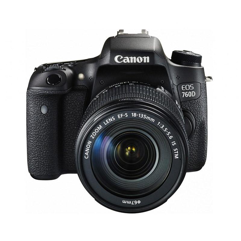 دوربین عکاسی کانن Canon 760D با لنز 135-18 IS STM