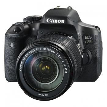 دیدنگار|دوربین کانن|دوربین عکاسی کانن Canon EOS 750D با لنز 135-18 STM