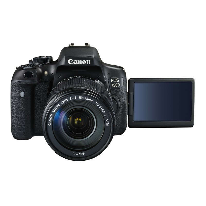 دوربین عکاسی کانن Canon 750D با لنز ۱۳۵-۱۸ IS STM