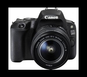 دوربین عکاسی حرفه ای کانن 200D 18-55 III