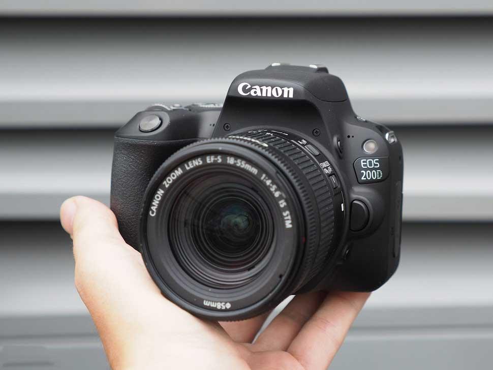 بهترین دوربین حرفهای کانن برای عکاسان مبتدی