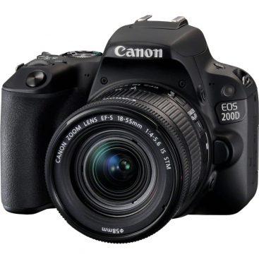 دوربین عکاسی حرفه ای کانن ۲۰۰D ۱۸-۵۵ STM