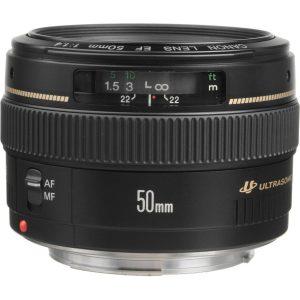 دیدنگار|لنز کانن canon|لنز Canon EF 50 mm f/1.4 USM