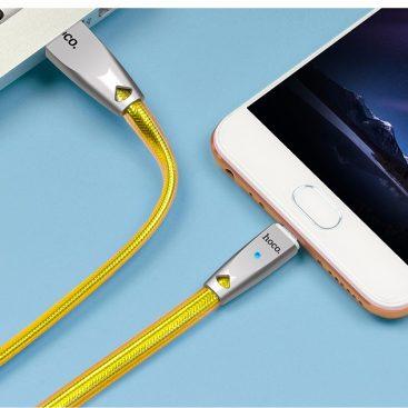 کابل تبدیل USB به لایتنینگ هوکو مدل U9 به طول 2 متر