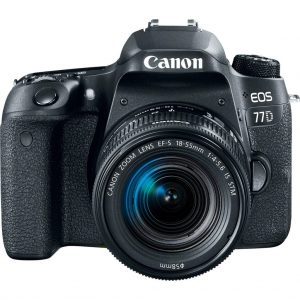 دوربین عکاسی کانن Canon 77D با لنز 55-18 STM