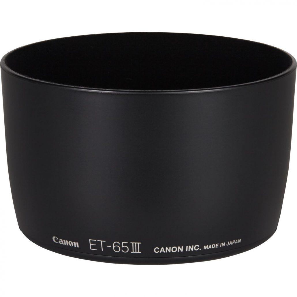 هود لنز کانن ET-65C III Lens Hood for Canon EF 85mm f/1.8