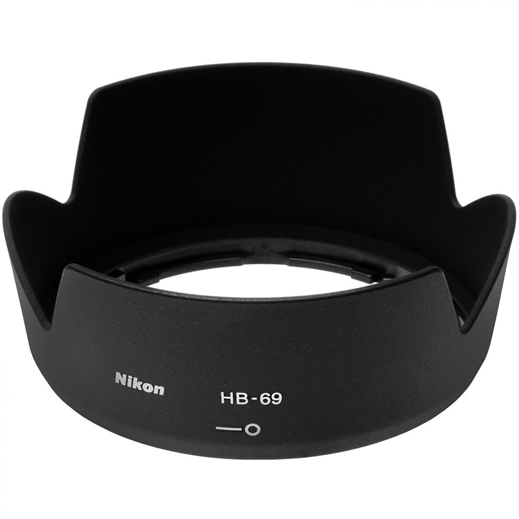 هود لنز نیکون مدل HB-69 Lenz Hood for Nikon 18-55mm f/3.5-5.6G VR II