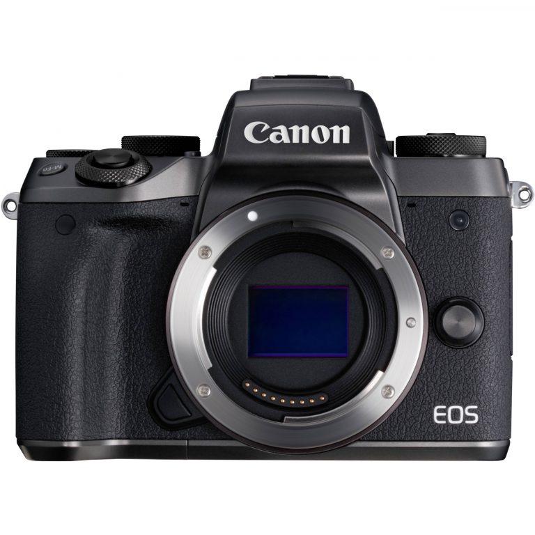 دیدنگار دوربین کانن دوربین بدون آینه کانن Canon EOS M5 Mirrorless با لنز 45-15