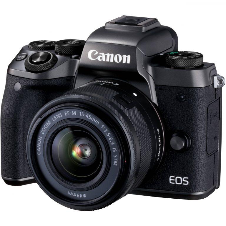 دوربین عکاسی بدون آینه کانن مدل Canon EOS M5