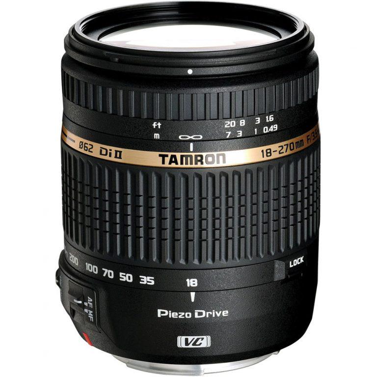 دیدنگار|لنز تامرون Tamron|لنز Tamron 18-270 mm f/3.5-6.3 Di II VC PZD for Canon