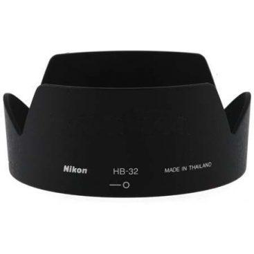 هود لنز نیکون مدل HB-32 for Nikon 18-140 , 18-105 , 18-135 Lens