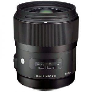 دیدنگار|لنز سیگما sigma|لنز Sigma 35mm f/1.4 DG HSM Art for Nikon