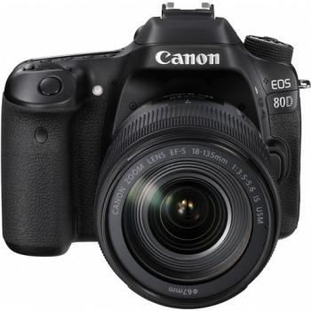 دوربین عکاسی کانن Canon 80D با لنز 135-18 IS USM