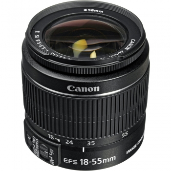 دیدنگار|لنز کانن canon|لنز کانن Canon EF-S 18-55mm f/3.5-5.6 IS II