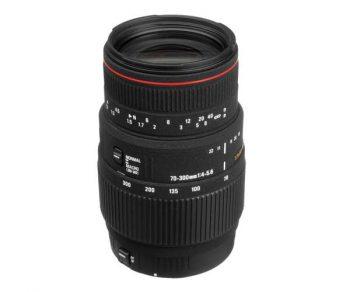دیدنگار|لنز سیگما sigma|لنز Sigma 70-300 mm f/4-5.6 APO DG Macro for Nikon
