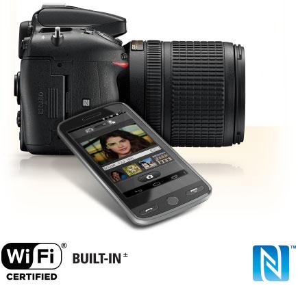 قابلیت های دوربین عکاسی نیکون D7200