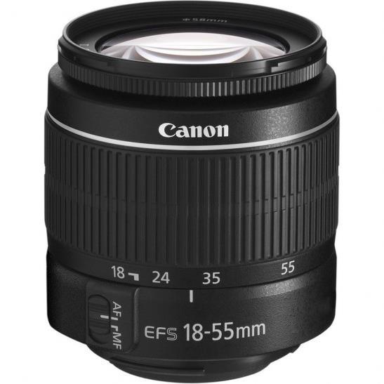 لنز کانن Canon EF-S 18-55mm f/3.5-5.6 III