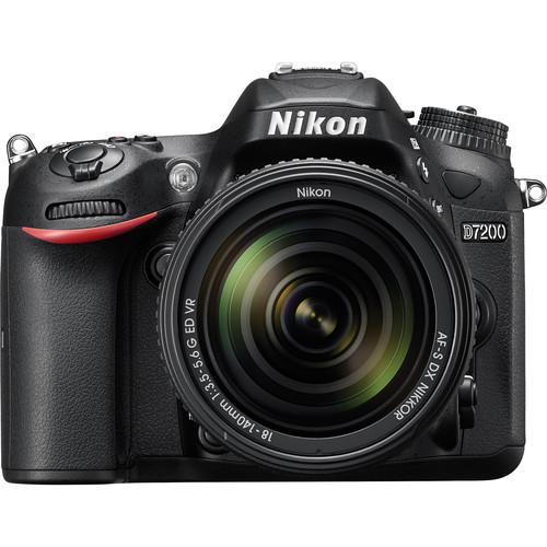 دوربین عکاسی نیکون Nikon D7200 با لنز ۱۴۰-۱۸ VR