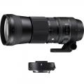 .لنز سیگما Sigma 150-600mm F5-6.3 DG OS HSM | C for Canon + TC 1401