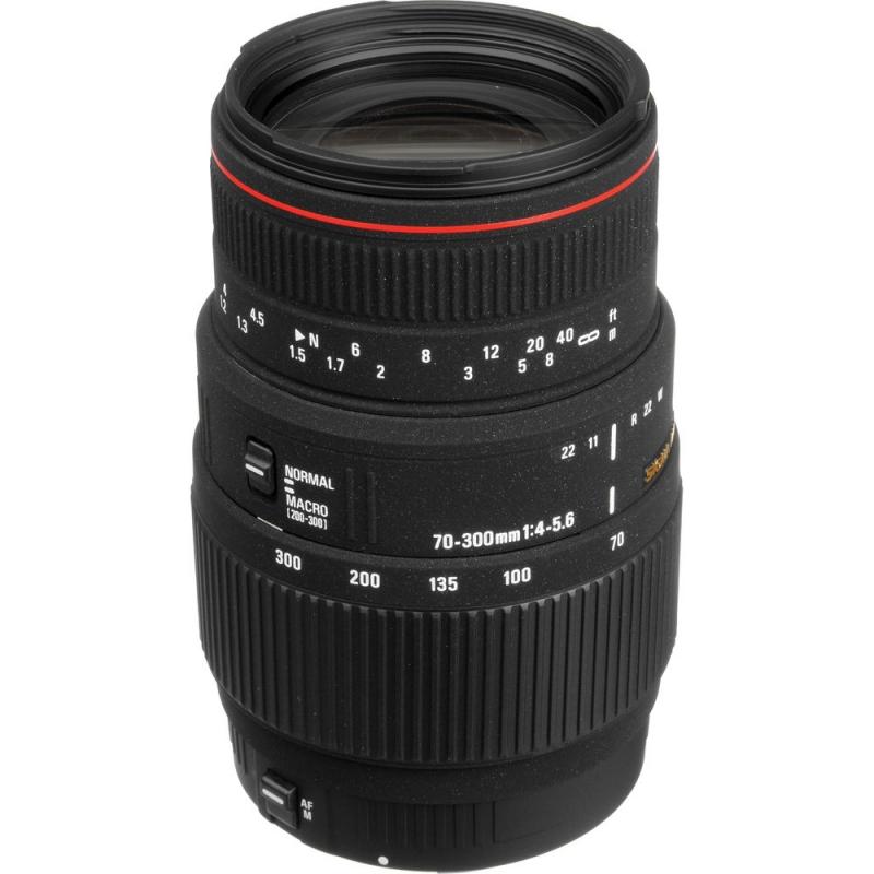 لنز سیگما Sigma 70-300mm F4-5.6 APO DG Macro for Canon