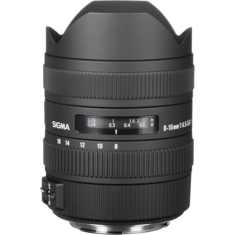 لنز سیگما Sigma 8-16mm F4.5-5.6 DC HSM for Canon