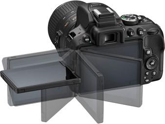 صفحه نمایش دوربین D5300
