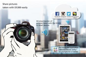 سیستم اشتراک گذاری عکس ها در دوربین D5300