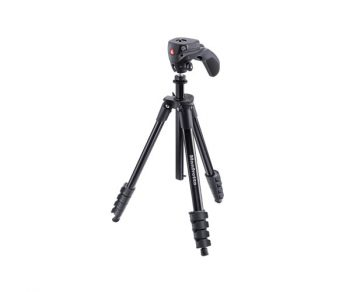 سه پایه مانفرتو مدل Manfrotto Compact Action MKCOMPACTACN-BK