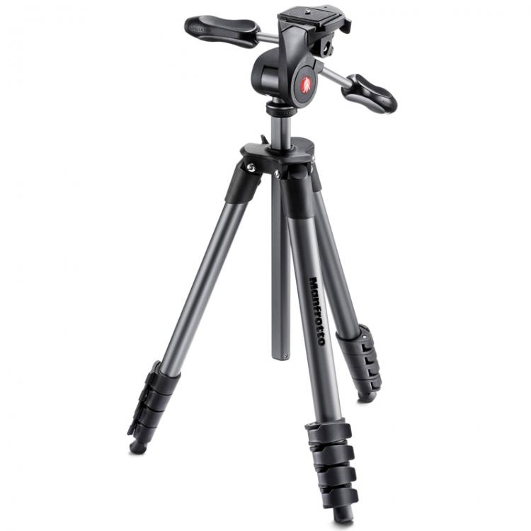 دیدنگار|سه پایه|سه پایه دوربین حرفه ای مانفروتو Manfrotto Advanced MKCOMPACTADV-BK
