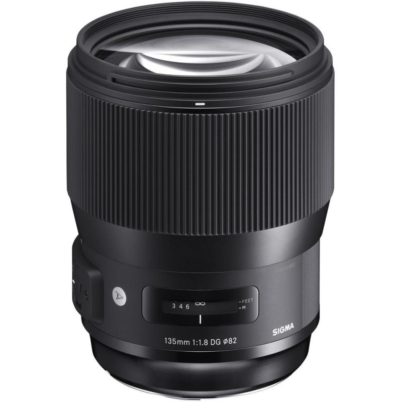 لنز سیگما Sigma 135mm F1.8 DG HSM Art for Canon